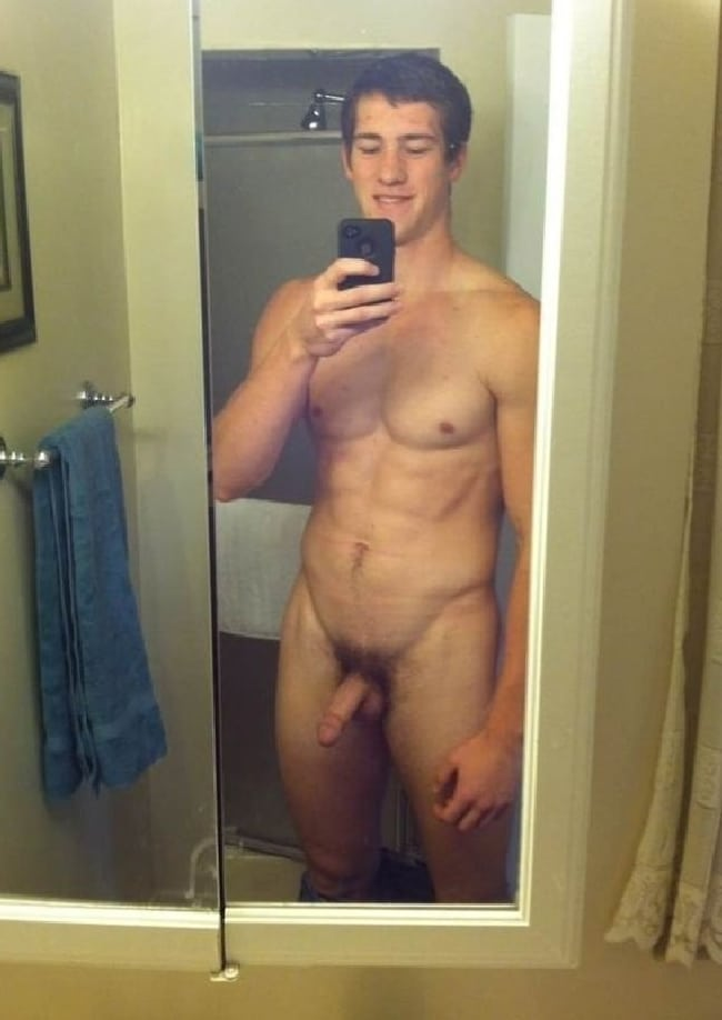 Nude Guy With Hairy Cock
