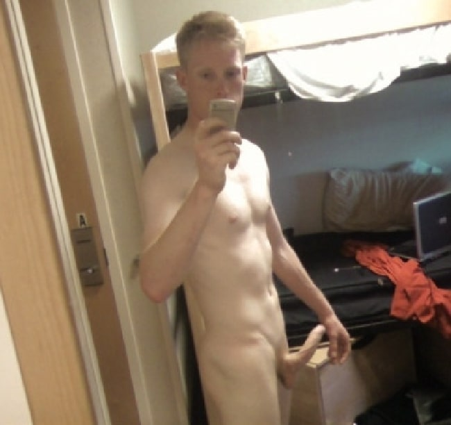 Erected Nude Guy