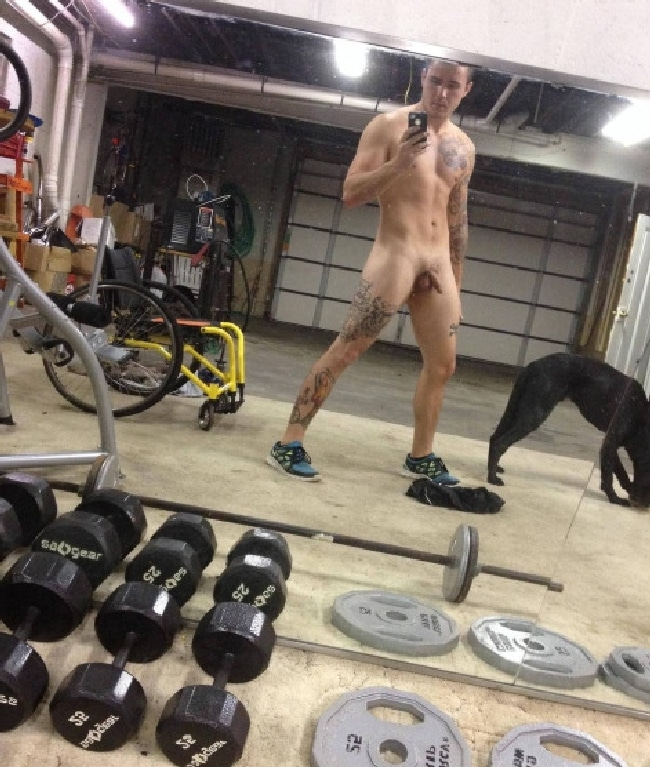 Nude At Gym