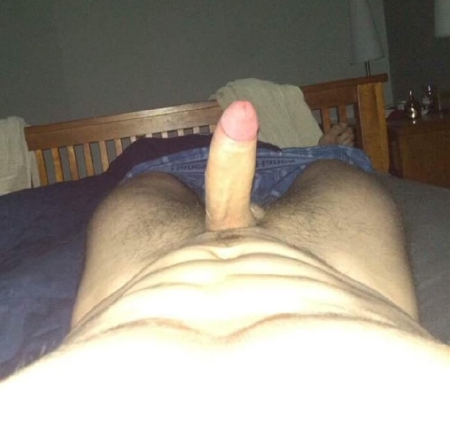 Nude Stud In Bed